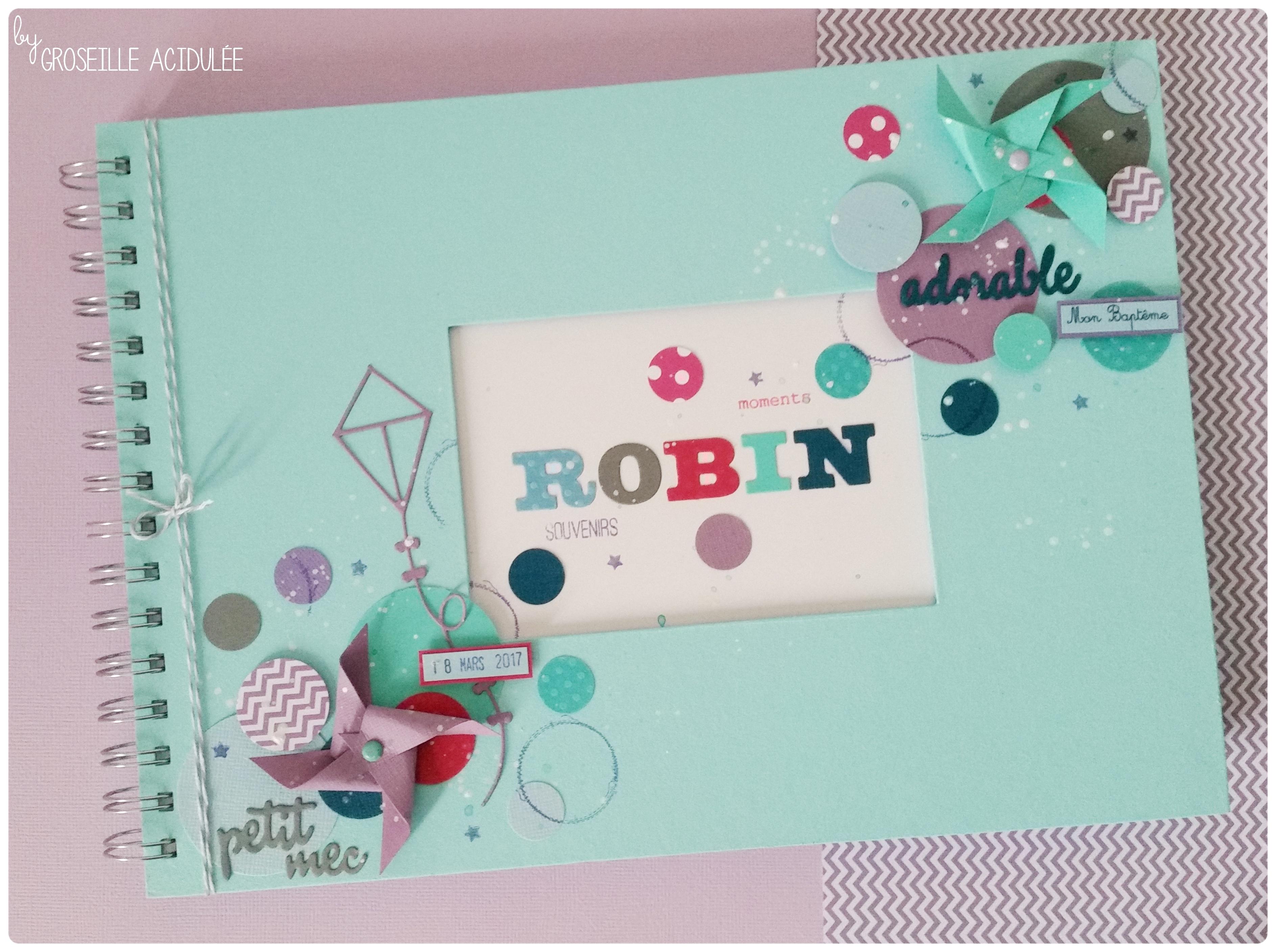 Livre d'or – Baptême de Robin