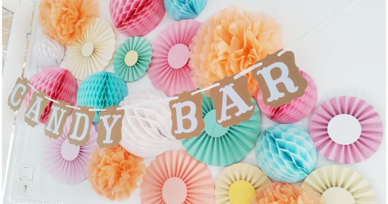 Candy Bar – Couleurs Pastels