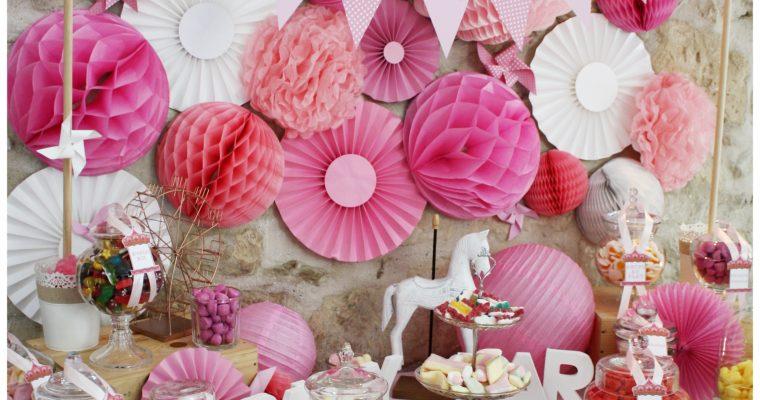 Candy Bar – Baptême d'Abigaëlle