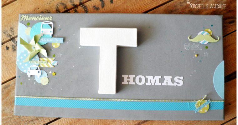 Cadre Prénom – Thomas