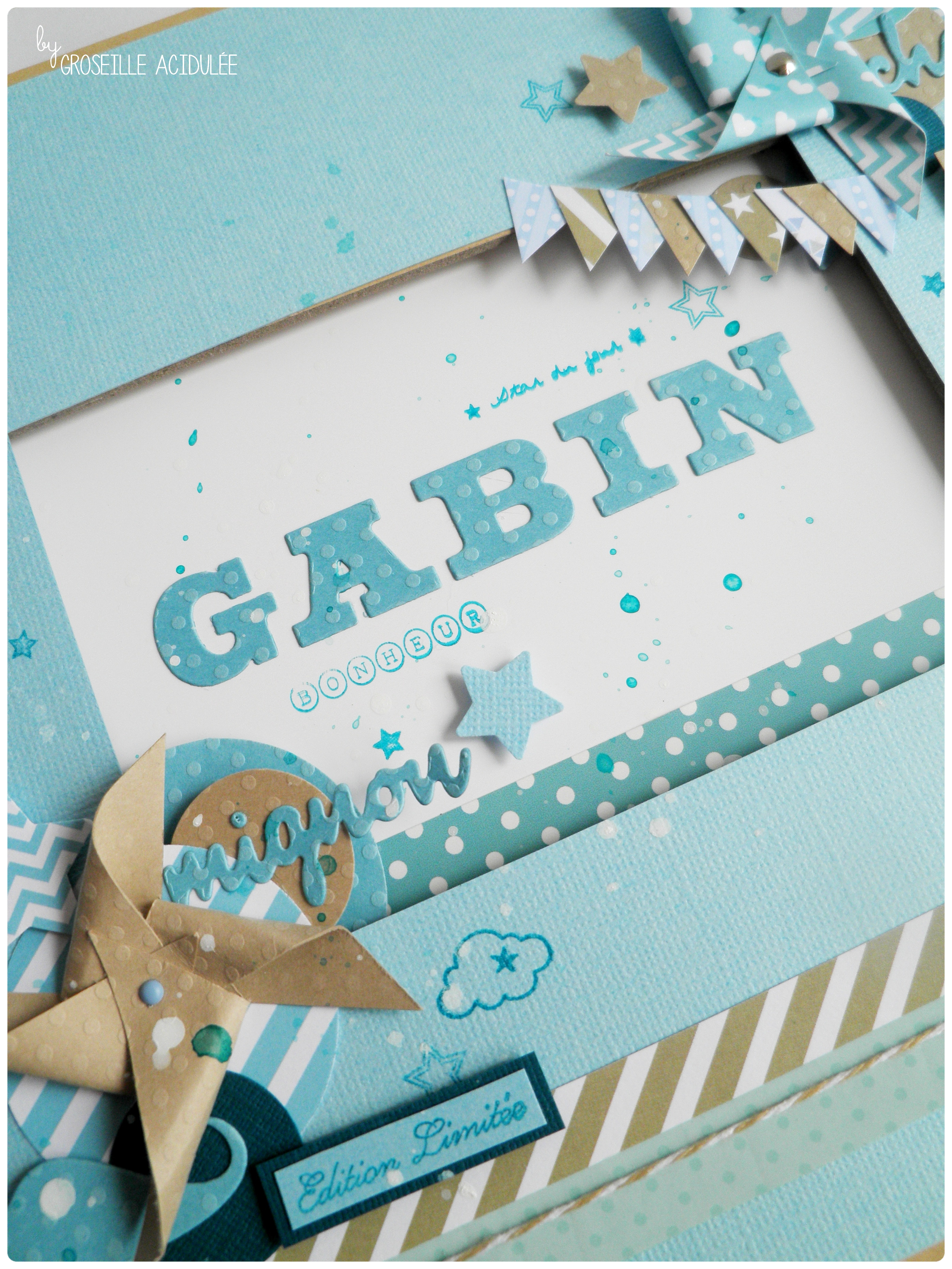 Livre d'or – Baptême de Gabin