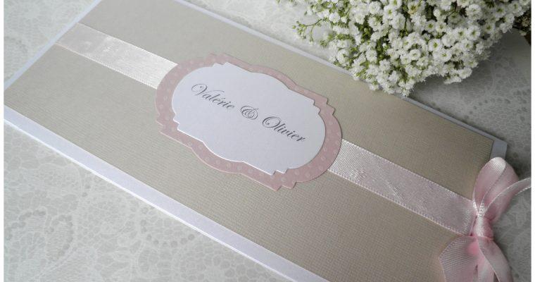 Faire-Part Mariage – Valérie & Olivier