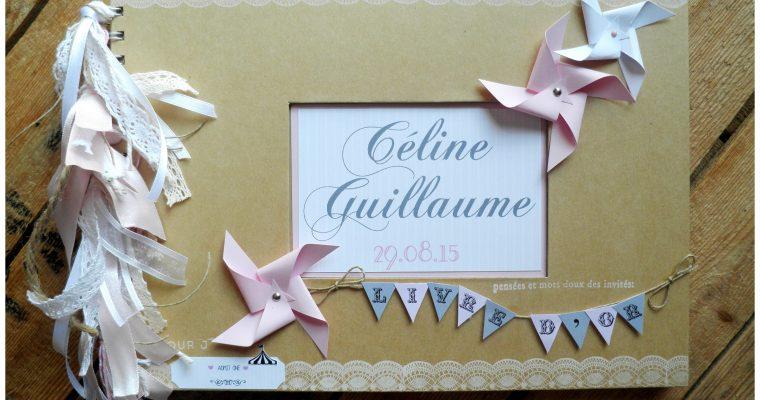 Livre d'or Mariage – Céline & Guillaume