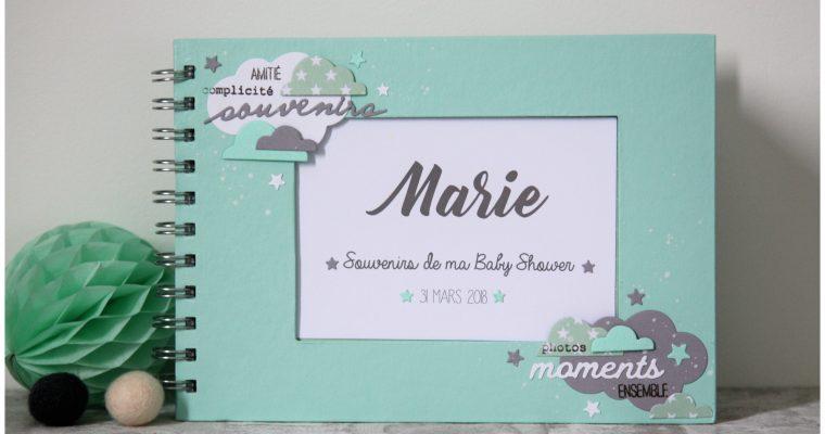 Livre Souvenir Baby Shower