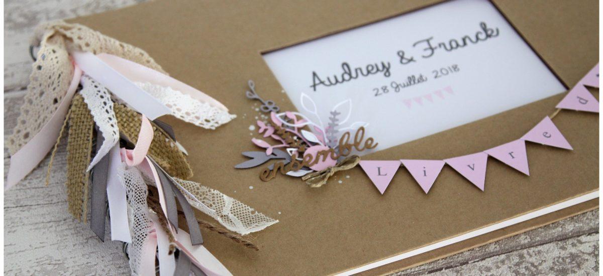 Livre d'or Mariage – Audrey & Franck