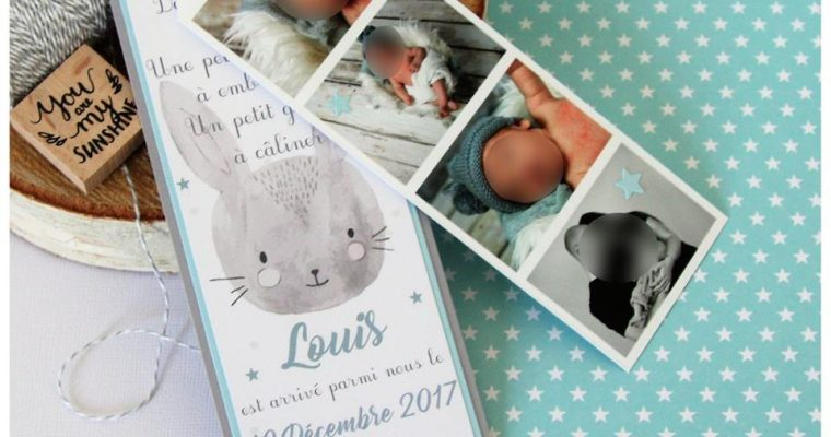 Faire-part Naissance – Louis