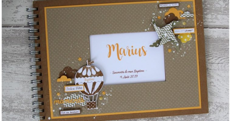 Livre d'or – Baptême de Marius