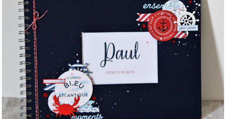 Livre Souvenir – Baptême de Paul