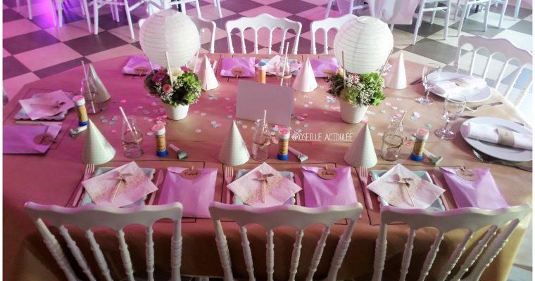 Mariage – Anne-Sophie & Aurélien – La table des enfants