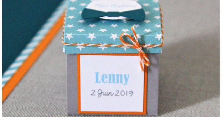 Boite Dragées Baptême – Lenny