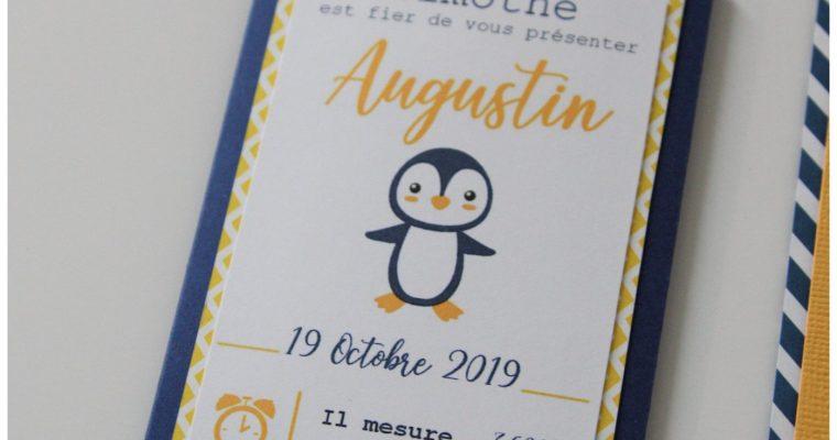 Faire-Part Naissance – Augustin
